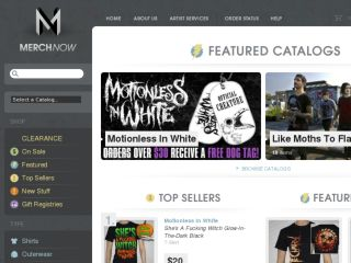 Shop at merchnow.com