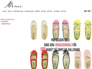 Shop at minashoes.se