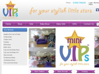 Shop at minivips.co.uk