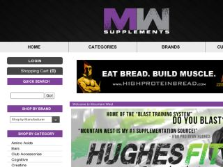 Shop at mountainwestsupplements.com
