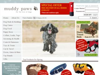 Shop at muddypaws.co.uk
