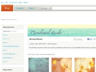Shop at mundanalruido.etsy.com