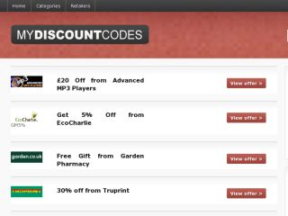 Shop at mydiscount-codes.co.uk