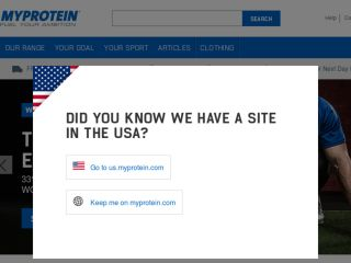 Shop at myprotein.com