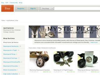 Shop at mysticpieces.net
