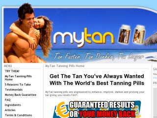 Shop at mytanningpills.com