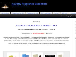 Shop at nadanyfragrances.com