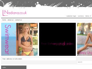 Shop at nadiana.co.uk
