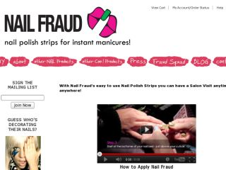 Shop at nailfraud.com