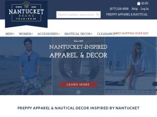 Shop at nantucketbrand.com