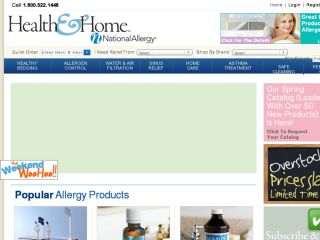Shop at nationalallergy.com