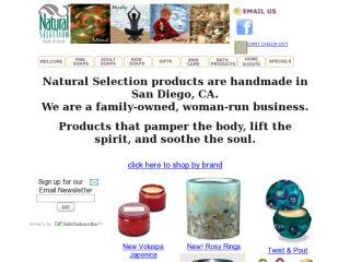 Shop at naturalselectionbathandbody.com