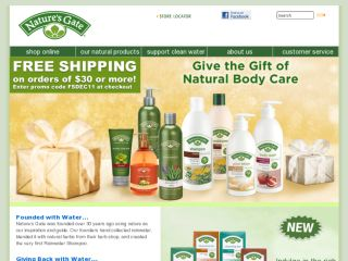 Shop at natures-gate.com