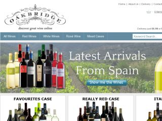 Shop at oakbridgewines.co.uk