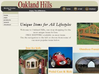 Shop at oaklandhillsproducts.com