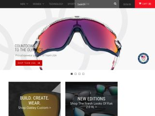 Shop at oakley.com