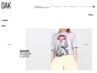 Shop at oaknyc.com