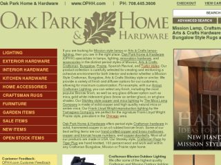 Shop at oakparkhome-hardware.com