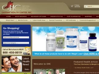 Shop at oakwayhealthcenter.com