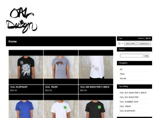 Shop at oal.bigcartel.com