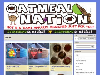 Shop at oatmealnation.com