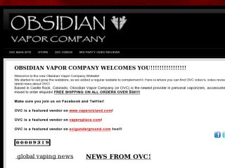 Shop at obsidianvapor.com