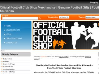 Shop at officialfootballclubshop.co.uk