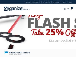 Shop at organize.com