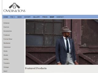 Shop at ovadiaandsons.com