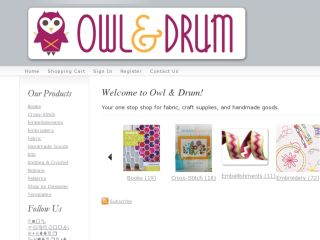 Shop at owlanddrum.com