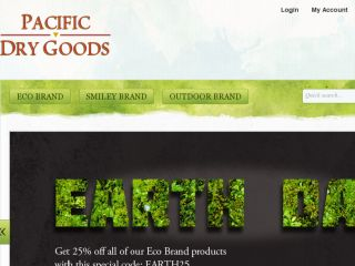 Shop at pacificdrygoods.com