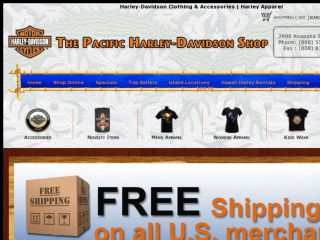 Shop at pacifichd.com