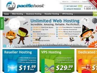 Shop at pacifichost.com