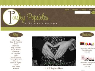 Shop at paisleypopsicles.com