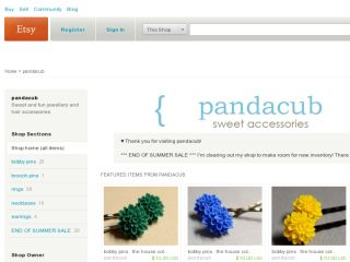 Shop at pandacub.etsy.com