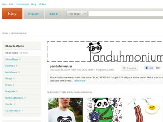 Shop at panduhmonium.etsy.com