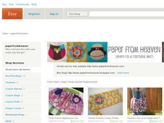 Shop at paperfromheaven.etsy.com