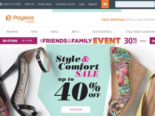 Shop at payless.com