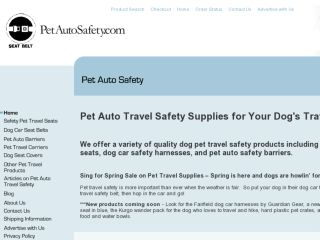 Shop at petautosafety.com