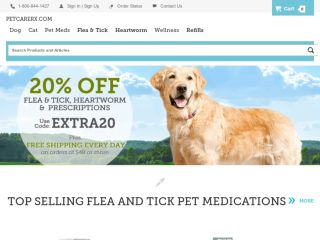 Shop at petcarerx.com