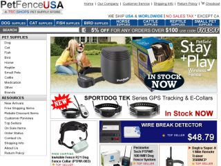 Shop at petfenceusa.com