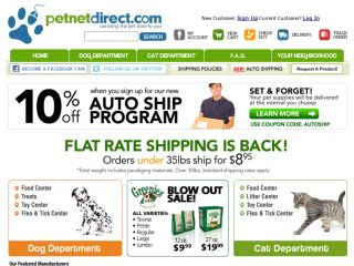 Shop at petnetdirect.com