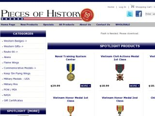 Shop at piecesofhistory.com