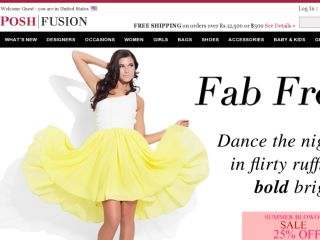Shop at poshfusion.com