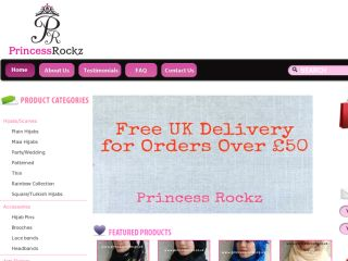 Shop at princessrockz.co.uk