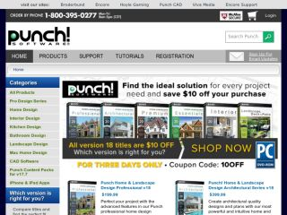 Shop at punchsoftware.com