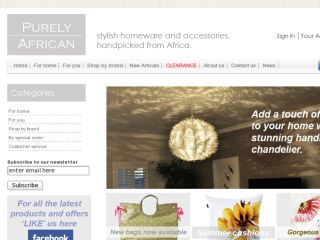 Shop at purelyafrican.co.uk