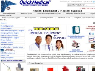 Shop at quickmedical.com
