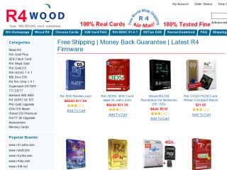 Shop at r4wood.com