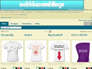 Shop at rabble-ramblings.spreadshirt.co.uk